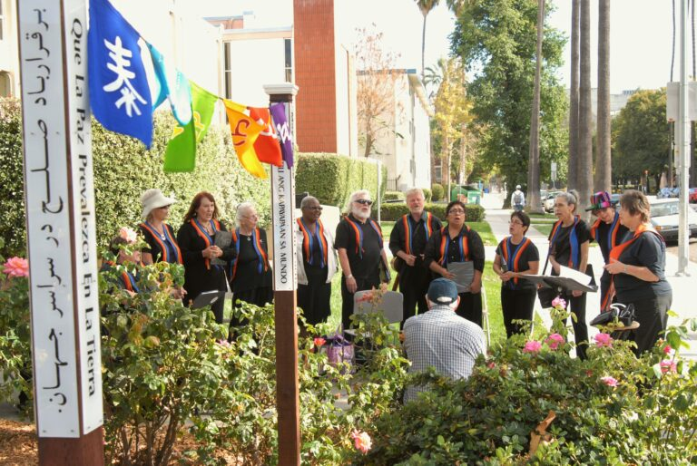 Peace pole dedication 2011