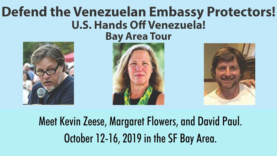 Venezuelan Embassy Defenders Bay Area Tour in San Jose